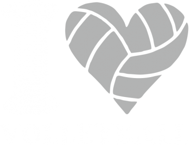 Принт Женская майка I love volleyball - FatLine