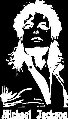 Принт Наклейка Майкл Джексон - FatLine
