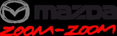Принт Женская футболка с V-образным вырезом Mazda Zoom-Zoom - FatLine