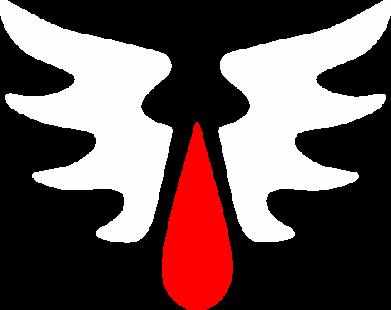 Принт Чоловіча толстовка Криваві Ангели - WarHammer, Фото № 1 - FatLine