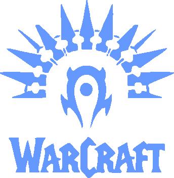 Принт Мужская майка WarCraft Logo - FatLine