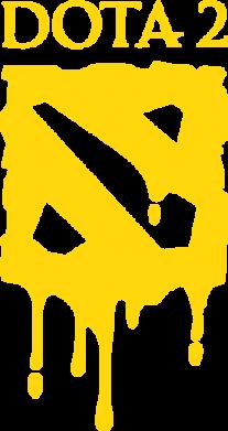 Принт Мужская майка Dota 2 Logo - FatLine