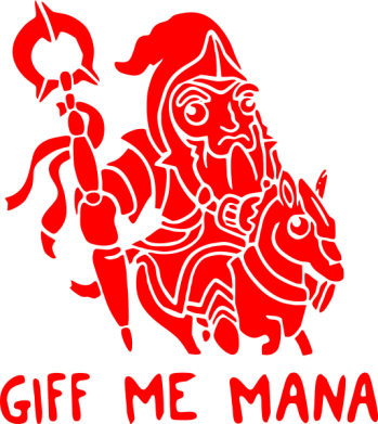 Принт Сумка Giff Me Mana - FatLine