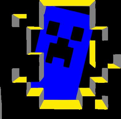 Принт Реглан Minecraft 3D - FatLine