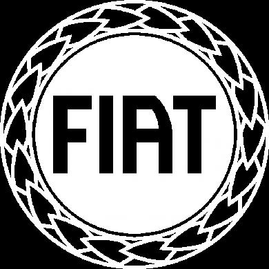 Принт Футболка Поло Fiat logo - FatLine