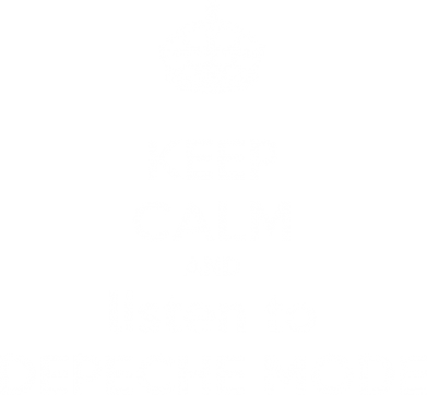 Принт Женская футболка KEEP CALM and LISTEN to DEPECHE MODE - FatLine