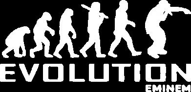 Принт Женская футболка поло Eminem Evolution - FatLine