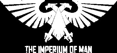 Принт Мужская толстовка на молнии Imperium of Man - Warhammer 40K - FatLine