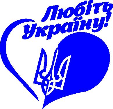 Принт кепка Любіть Україну - FatLine