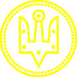 Принт Мужская майка Герб України у колі - FatLine