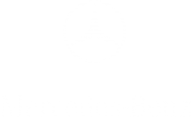 Принт Футболка Поло Mercedes Benz logo - FatLine
