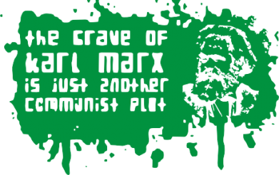 Принт Подушка The crave of Karl Marx - FatLine