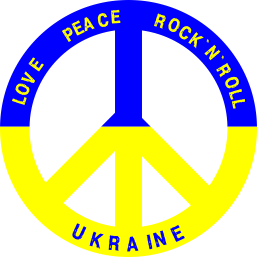 Принт Реглан (свитшот) Love,peace, rock'n'roll, Ukraine - FatLine