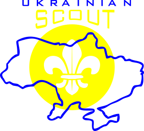 Принт Футболка Поло Ukrainian Scout Map - FatLine