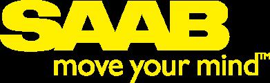 Принт Женская футболка с V-образным вырезом SAAB - FatLine