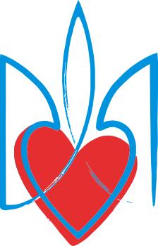 Принт Штаны Серце з гербом - FatLine
