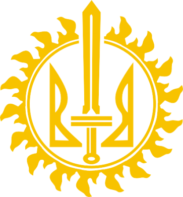 Принт Детская футболка Герб Правого Сектору у сонці - FatLine