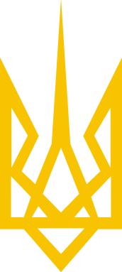 Принт Кепка Герб України загострений, Фото № 1 - FatLine