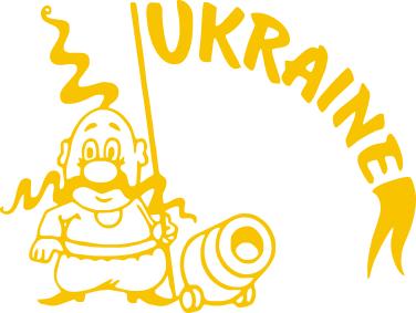 Принт Футболка Поло Козак з гарматою - FatLine