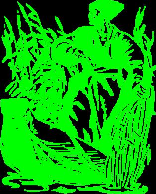 Принт Детская футболка Козак у камишу - FatLine
