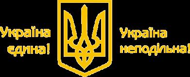 Принт Мужская футболка  с V-образным вырезом Україна неподільна! - FatLine