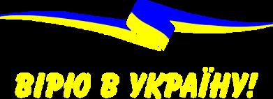 Принт Футболка Вірю в Україну - FatLine