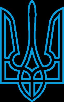 Принт Футболка Герб України (полий) - FatLine