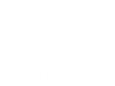 Принт Толстовка Life is short - FatLine
