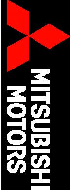 Принт Майка-тельняшка Mitsubishi Motors лого - FatLine