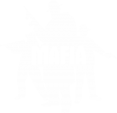 Принт Мужская футболка  с V-образным вырезом Mafia - FatLine