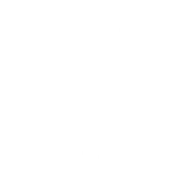Принт Майка-тельняшка i am walter white also known as heisenberg - FatLine