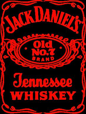 Принт Подушка Jack Daniel's Whiskey - FatLine