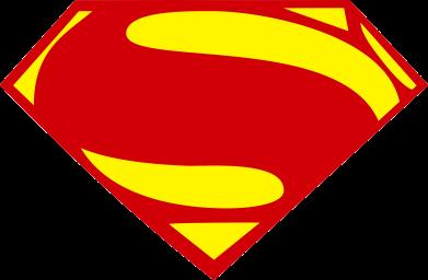Принт Подушка Superman Человек из стали - FatLine