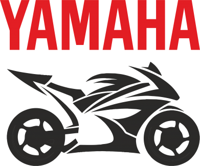Принт Фартук Yamaha Bike - FatLine