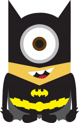 Принт Майка-тельняшка Minion Batman - FatLine