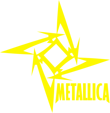 Принт Майка-тельняшка Metallica Logotype - FatLine