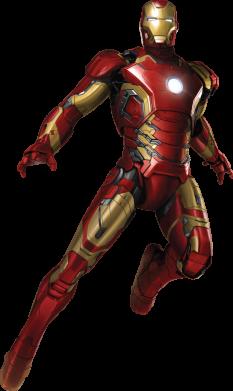 Принт Сумка Железный Человек в воздухе - FatLine