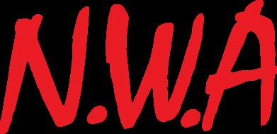 Принт Женская футболка поло N.W.A Logo - FatLine