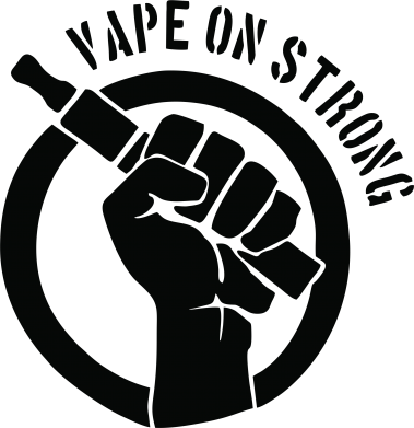 Принт Футболка Vape on strong - FatLine