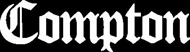 Принт Женская футболка с V-образным вырезом Compton - FatLine