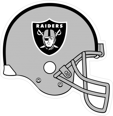 Принт Реглан Raiders Helmet - FatLine