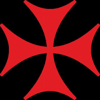 Принт Наклейка Болнисский крест - FatLine