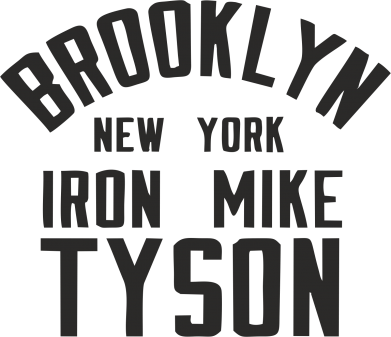 Принт Футболка Brooklyn Mike Tyson - FatLine