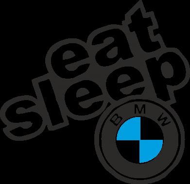Принт Футболка з довгим рукавом Eat, sleep, BMW, Фото № 1 - FatLine