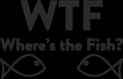 Принт Футболка з довгим рукавом Where is The Fish, Фото № 1 - FatLine