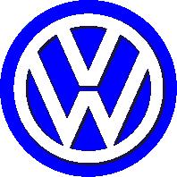 Принт Футболка Volkswagen Logo - FatLine
