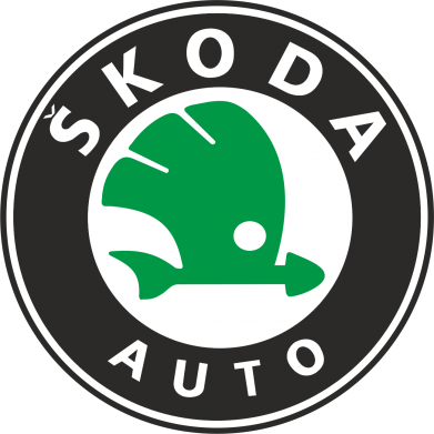 Принт Футболка Поло Skoda Small - FatLine