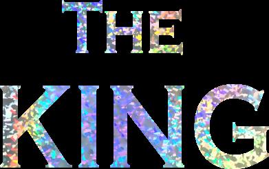 Принт Кепка The King, Фото № 1 - FatLine