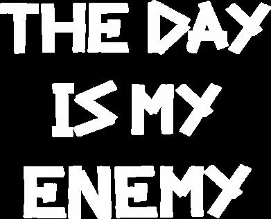 Принт Кепка The day is my enemy, Фото № 1 - FatLine