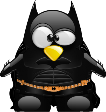 Принт Снепбек Linux+Batman - FatLine